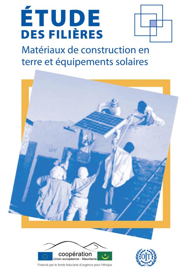 Matérieaux de construction en terre et équipements solaire