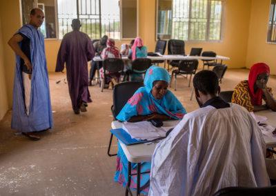 Processus de sélection des candidats – Kaédi 16