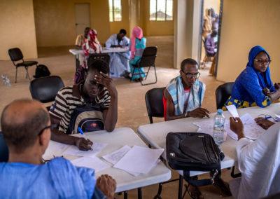 Processus de sélection des candidats – Kaédi 17