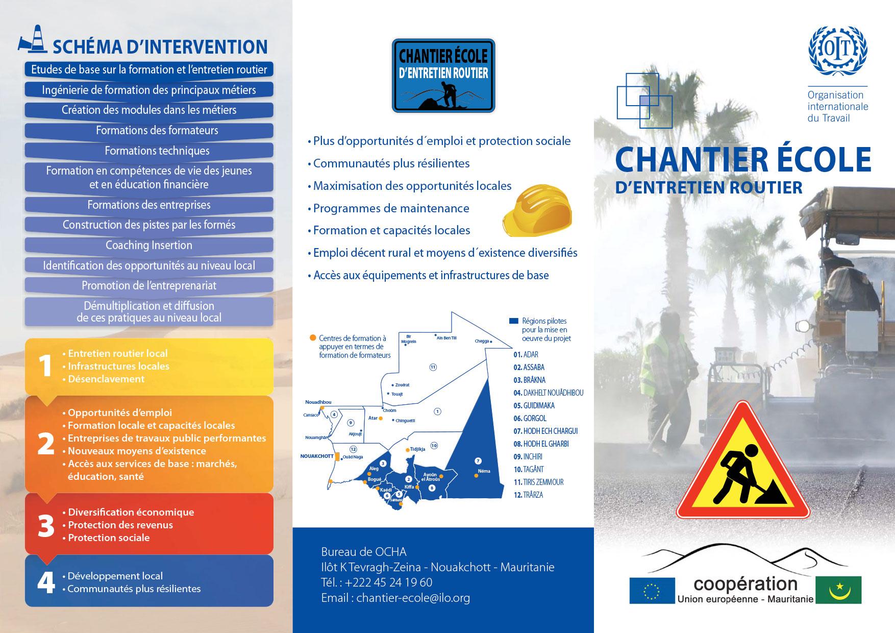 BTP Mauritanie- Déplant -Chantier École